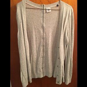 Light gray cardigan